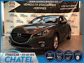 Mazda Mazda3 GS - AUTO - SIEGES CHAUFFANTS - CAMÉRA - A/C 2015