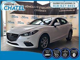 Mazda Mazda3 GX - BLUETOOTH - CAMÉRA - CRUISE 2016