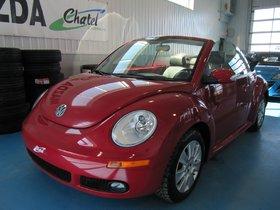 Volkswagen New Beetle Convertible  2010 **TRÈS BAS KILOMÉTRAGE**