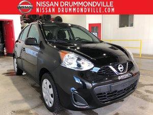 Nissan Micra 2015 SV - CERTIFIÉ - AUTOMATIQUE - JAMAIS ACCIDENTÉ!!