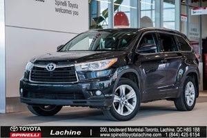 Toyota Highlander Limited - AWD 2016