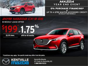 Mazda - Get the 2018 Mazda CX-9 Today!