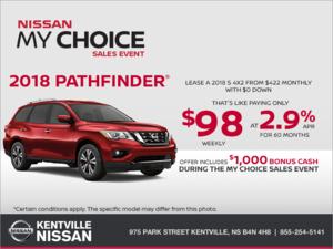 Nissan - 2018 Nissan Pathfinder