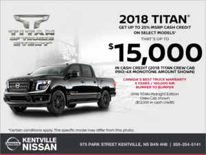 Nissan - 2018 Nissan Titan