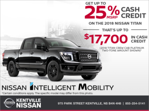 Nissan - Get the 2018 Nissan Titan Today!