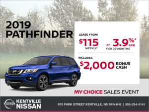 Nissan - Get the 2019 Nissan Pathfinder Today!