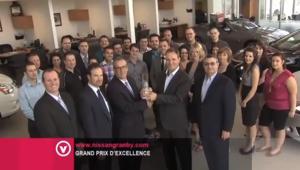 Nissan Granby: Mérite le Grand Prix d'excellence de Nissan Canada