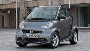 smart fortwo 2013 – Sécurité et économie de carburant.