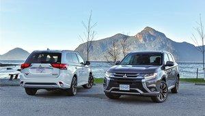 Tout ce qu'il faut savoir sur le Mitsubishi Outlander PHEV 2018