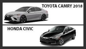 Toyota Corolla 2018 versus Honda Civic