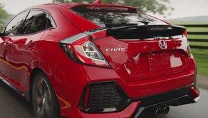 La toute nouvelle Honda Civic à hayon 2017