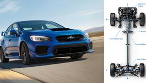Traction Intégrale Symétrique de Subaru