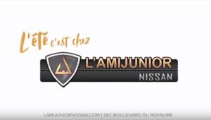 L'ami Junior Nissan équipé pour l'été - Sentra 2018