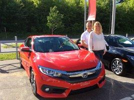 Honda Civic coupé EX-T 2016 de Avantage Honda à Shawinigan