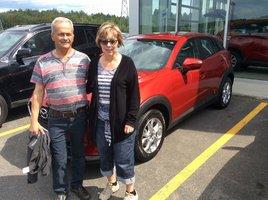 Rejean et Guylaine Blanchette  de Prestige Mazda à Shawinigan