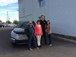 Un accueil chaleureux  de Groupe Vincent à Shawinigan et Trois-Rivières