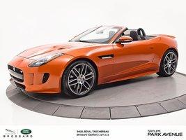 2016 Jaguar F-Type S   CONVERTIBLE + ÉCHAPPEMENT DYNAMIQUE