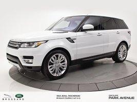 2016 Land Rover Range Rover Sport DIESEL Td6 HSE   *PNEUS D'HIVER DÉJÀ INSTALLÉ* (R)