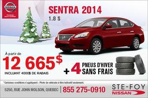 Achetez la Nissan Sentra 2014 à 12 665$