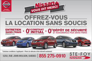 Nissan vous dit merci en mars
