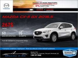 La toute nouvelle Mazda CX-5 GX 2016.5