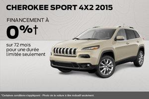 Jeep Cherokee Sport 2015 à l'achat à 24 995$