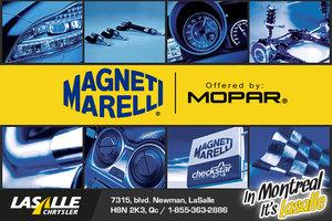 Order Your Magneti Marelli et Mopar Parts