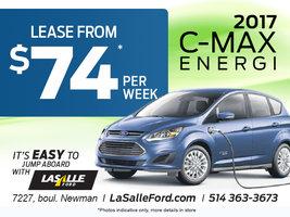 Electric Car C-Max 2017