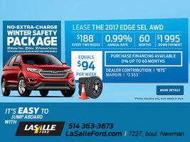 LEASE THE 2017 EDGE SEL AWD