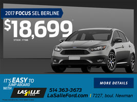 2017 Focus SEL Sedan