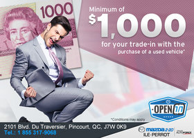 Get Over $1,000 For Your Trade-In!