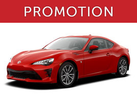 Toyota 86 neuf en promotion à Montréal