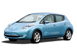 Nissan LEAF voiture 100% électrique en libre-service