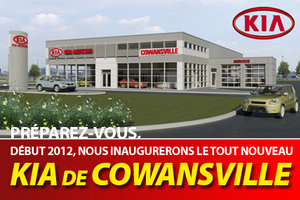 Kia Cowansville prêt à accueillir la clientèle! Ouverture officielle sous peu.