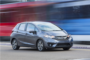 2017 Honda Fit: the spacious subcompact