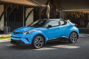 Des améliorations pour le Toyota C-HR 2019