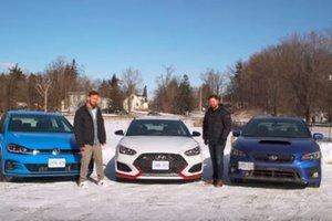 2019 Veloster N vs Golf GTI vs Subaru WRX