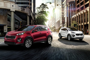 Hyundai Tucson 2018 vs Kia Sportage 2018 à Montréal