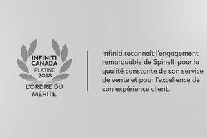 Spinelli Infiniti is given the prestigious Infiniti Canada Order of Distinction