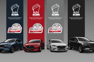 Mazda vehicles win AJAC and