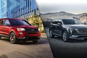 2019 Ford Explorer vs. 2019 Mazda CX-9 Review in Montreal