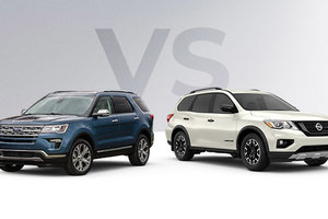 Ford Explorer 2019 vs Nissan Pathfinder 2019 à Montréal