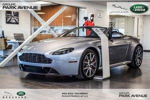 2015 Aston Martin Vantage ROADSTER | 420 CHEVAUX!