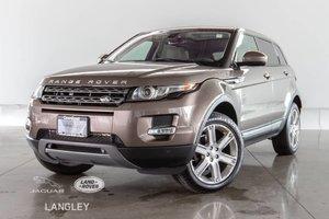 2015 Land Rover Range Rover Evoque PURE PLUS - CPO WARR. TO JAN 2021, ACCIDENT FREE, NEW TIRES, PREMIUM PKG, MERIDIAN SURROUND SOUND