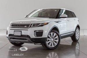 2017 Land Rover Range Rover Evoque SE - WARR TO MAR 2023, TECH PKG, LOW KM!