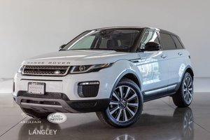 2017 Land Rover Range Rover Evoque HSE - WARR TO JAN 2023, LOW KM, ACCIDENT FREE, DRVR ASSIST!