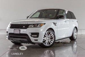 2016 Land Rover Range Rover Sport AUTOBIOGRAPHY - CPO WARR TO NOV 2021, NEW BRAKES ALL AROUND, LUXURY PKG, CONVENIENCE PKG!