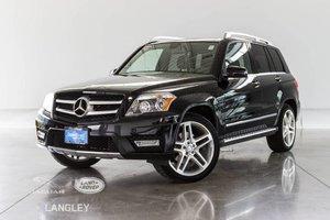 2011 Mercedes-Benz GLK-Class AWD, PREMIUM PKG, BACK-UP CAMERA, TECHNOLOGY PKG, TOW HITCH, NAVI, HEATED SEATS