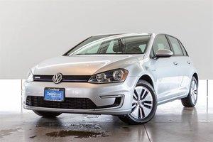 2016 Volkswagen E-Golf (U.S. Model) SE