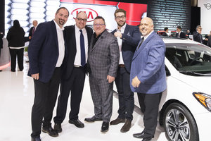 The Lallier Group Attends 2016 Montreal Auto Show
